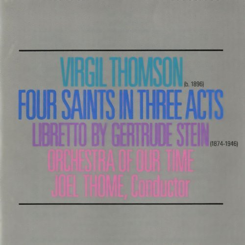 Four Saints in Three Acts cover