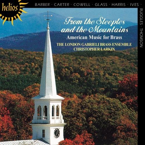 From The Steeples and the Mountains: American Music For Brass cover